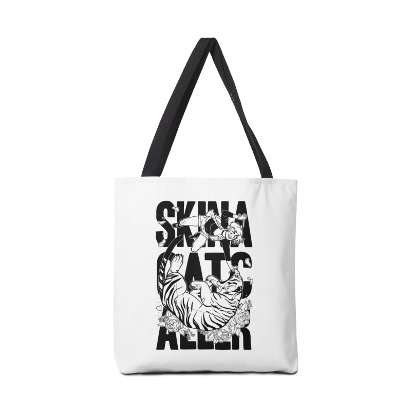 Skin a Catcaller (Black Text) Accessories Tote Bag Bag by Mixtape Comics