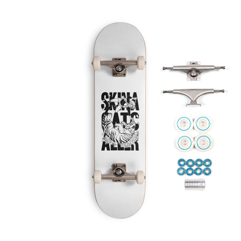 Skin a Catcaller (Black Text) Accessories Complete - Basic Skateboard by Mixtape Comics