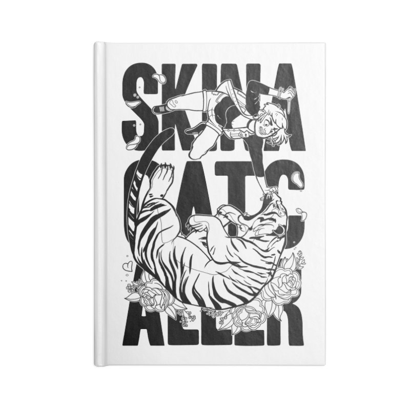 Skin a Catcaller (Black Text) Accessories Notebook by Mixtape Comics