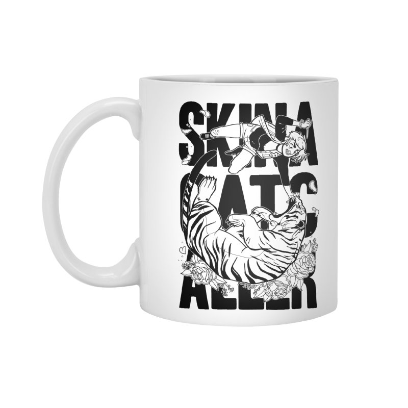 Skin a Catcaller (Black Text) Accessories Standard Mug by Mixtape Comics