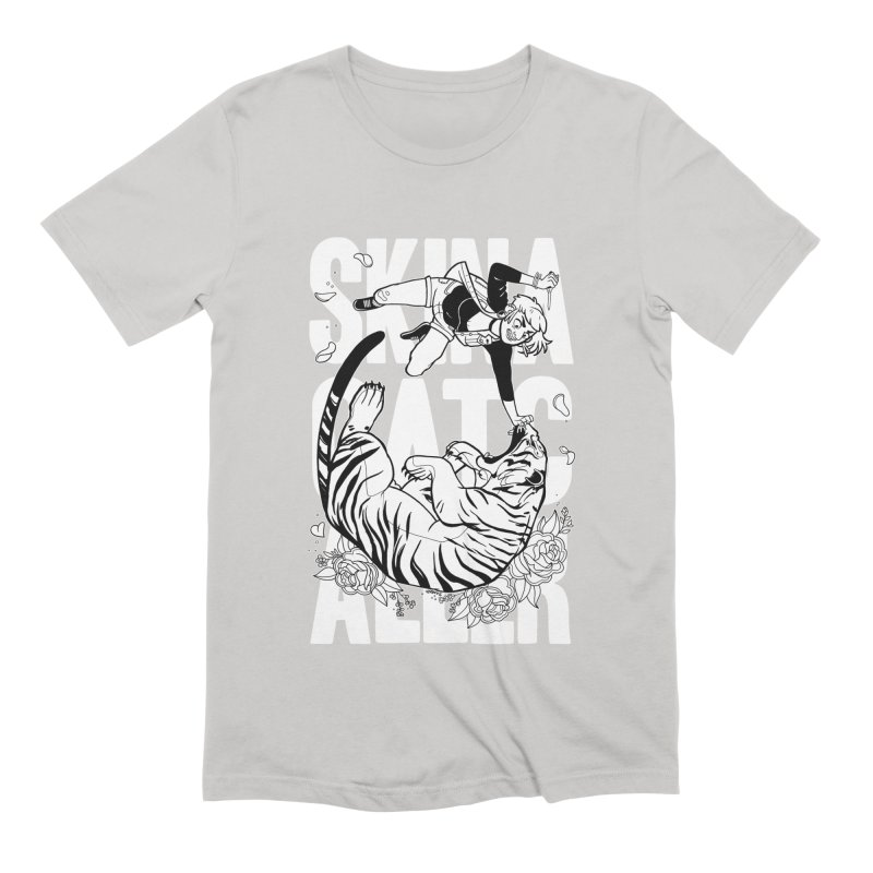 Skin a Catcaller (White Text) Men's Extra Soft T-Shirt by Mixtape Comics