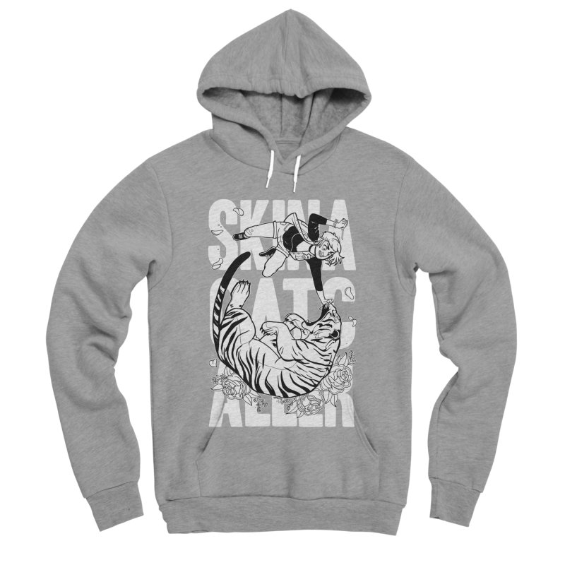 Skin a Catcaller (White Text) Women's Sponge Fleece Pullover Hoody by Mixtape Comics