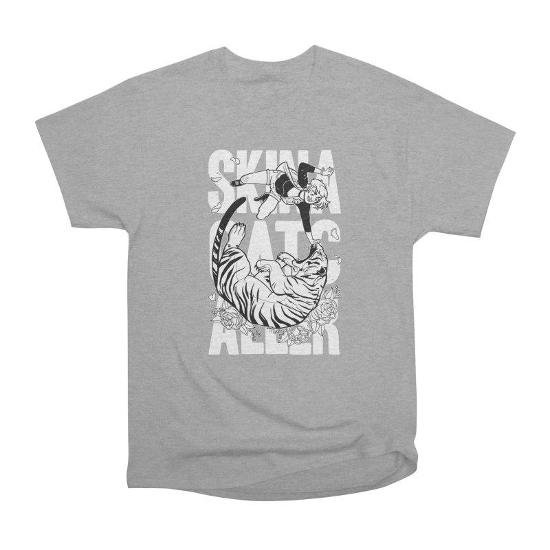 Skin a Catcaller (White Text) Men's T-Shirt by Mixtape Comics