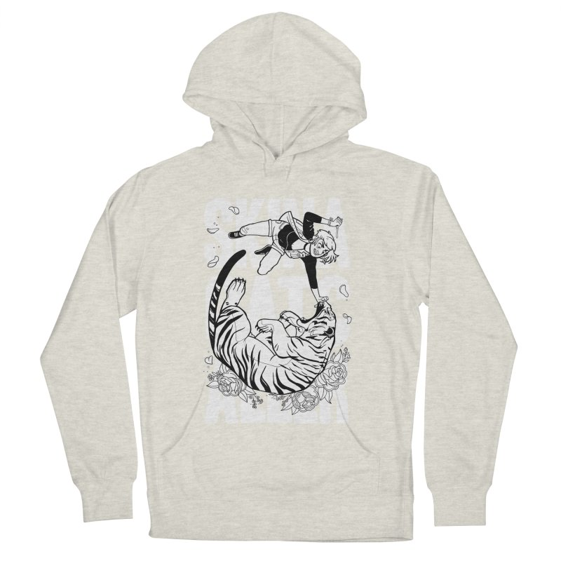 Skin a Catcaller (White Text) Women's French Terry Pullover Hoody by Mixtape Comics