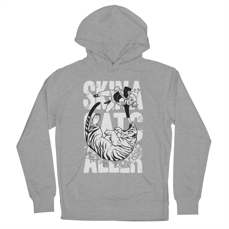 Skin a Catcaller (White Text) Men's French Terry Pullover Hoody by Mixtape Comics