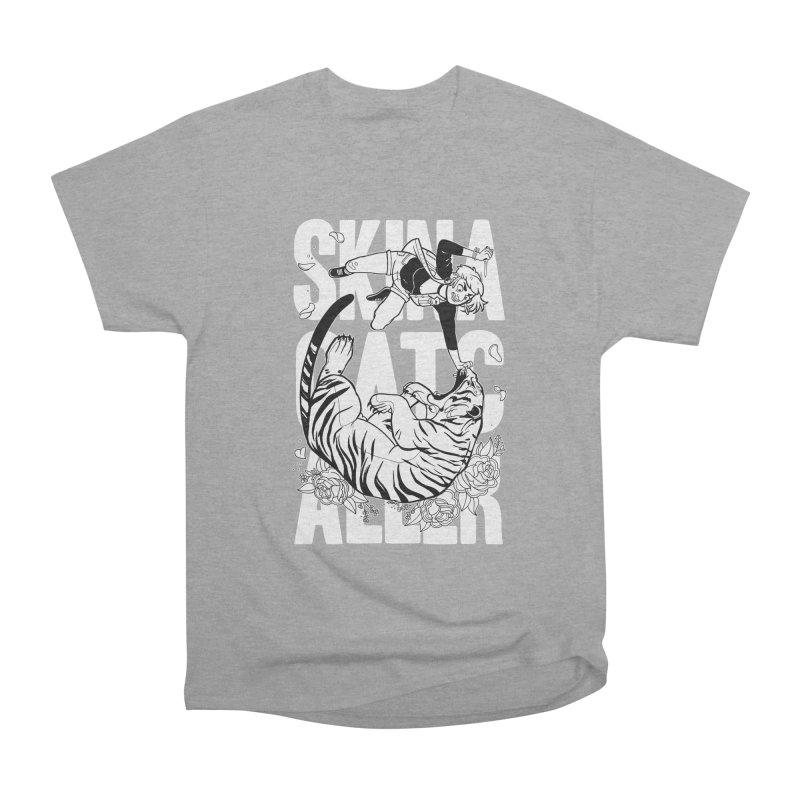 Skin a Catcaller (White Text) Women's Heavyweight Unisex T-Shirt by Mixtape Comics