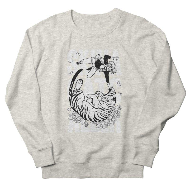 Skin a Catcaller (White Text) Women's French Terry Sweatshirt by Mixtape Comics