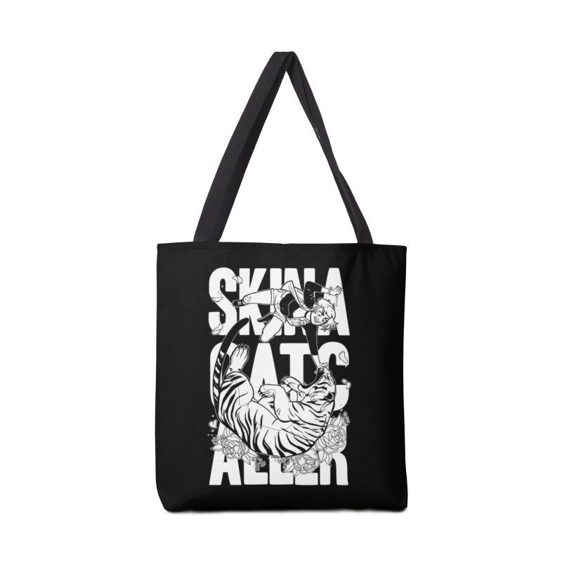 Skin a Catcaller (White Text) Accessories Tote Bag Bag by Mixtape Comics