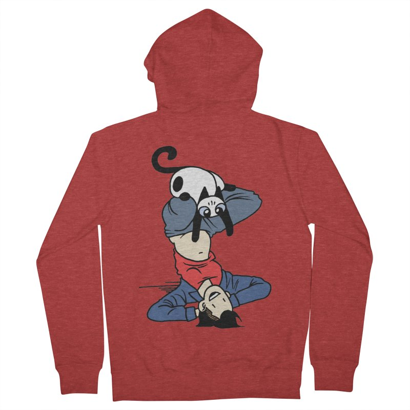 Besties Men's French Terry Zip-Up Hoody by Mixtape Comics