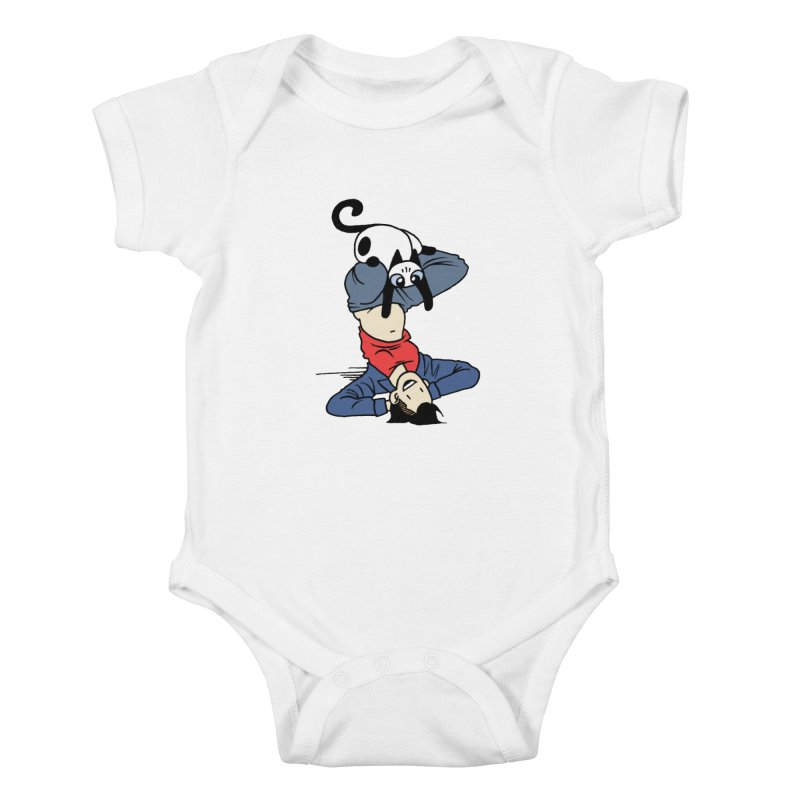 Besties Kids Baby Bodysuit by Mixtape Comics