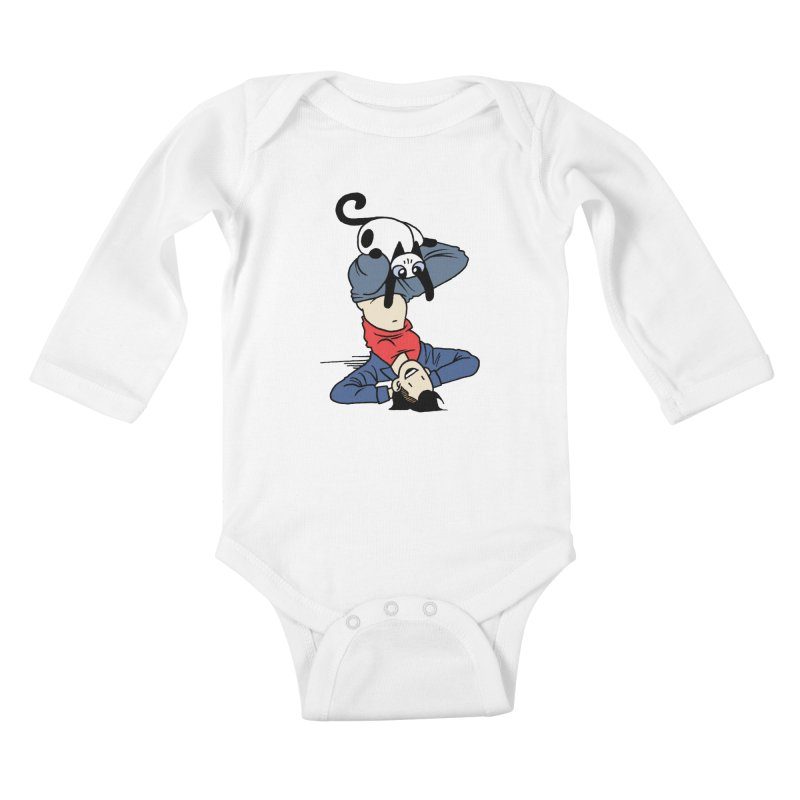 Besties Kids Baby Longsleeve Bodysuit by Mixtape Comics