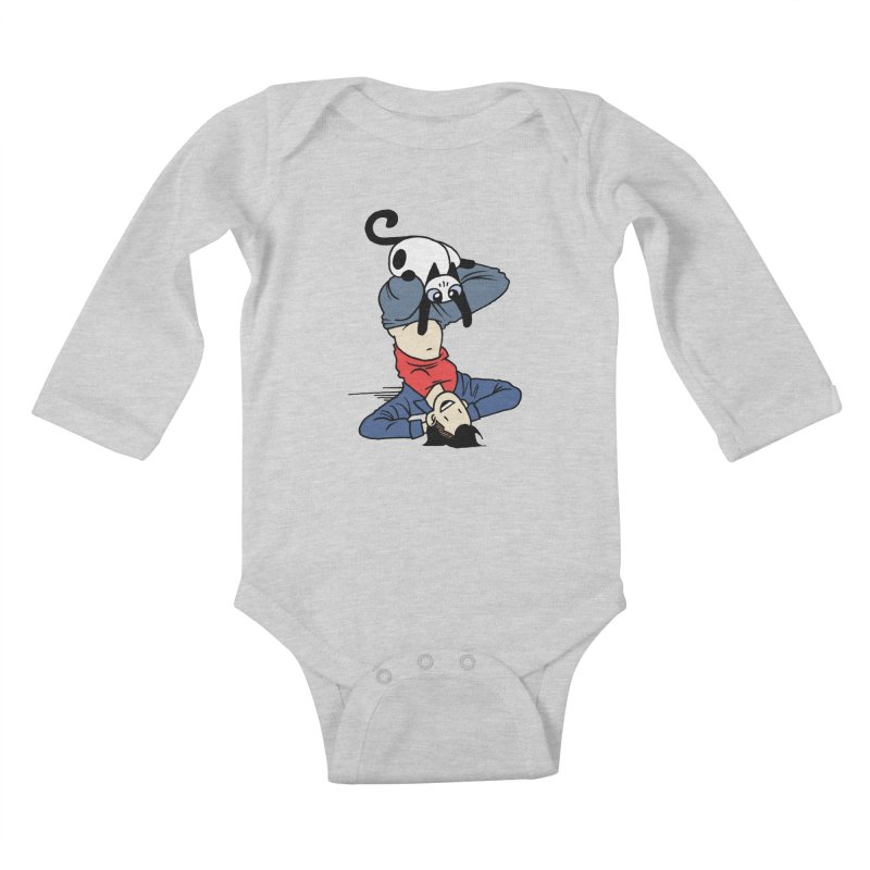 Besties Kids Baby Longsleeve Bodysuit by mixtapecomics's Artist Shop