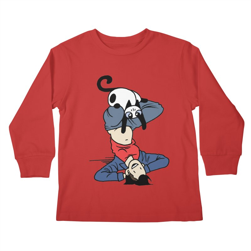 Besties Kids Longsleeve T-Shirt by mixtapecomics's Artist Shop