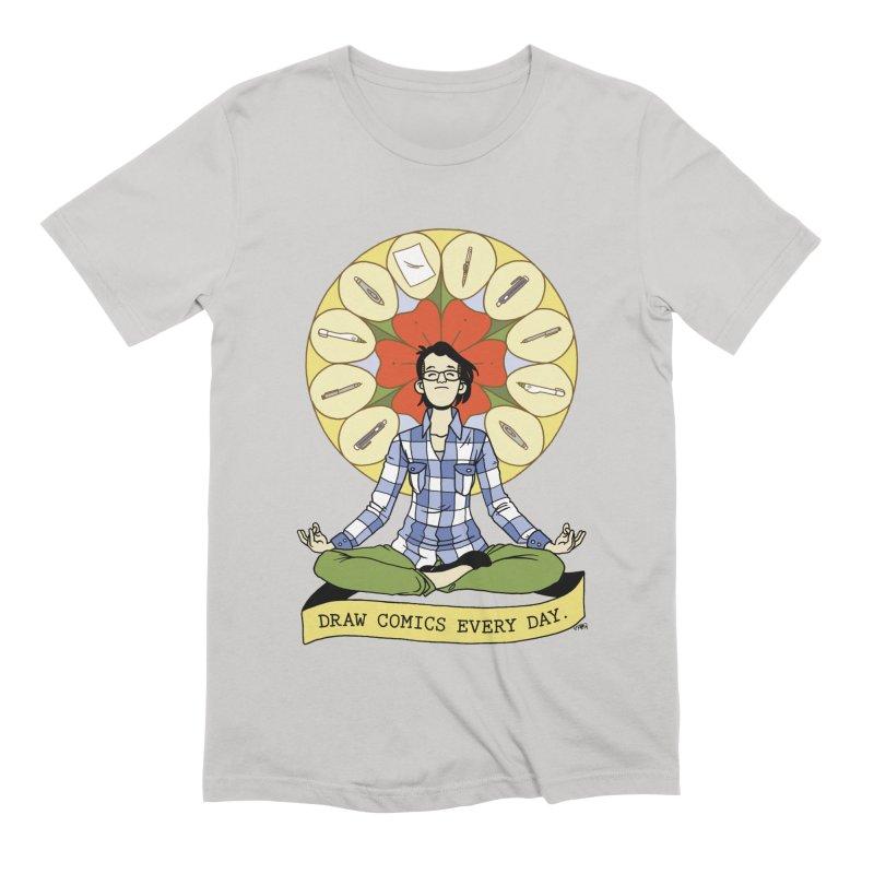 Draw Comics Every Day Men's T-Shirt by Mixtape Comics