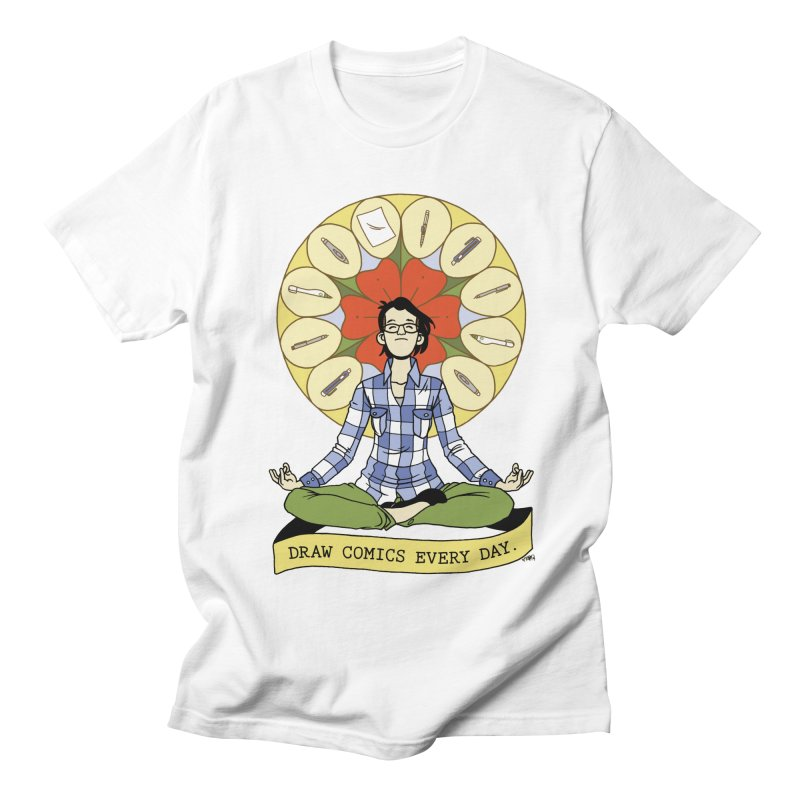 Draw Comics Every Day Women's Regular Unisex T-Shirt by Mixtape Comics
