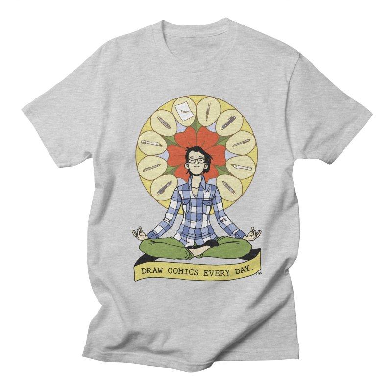 Draw Comics Every Day Women's Regular Unisex T-Shirt by mixtapecomics's Artist Shop