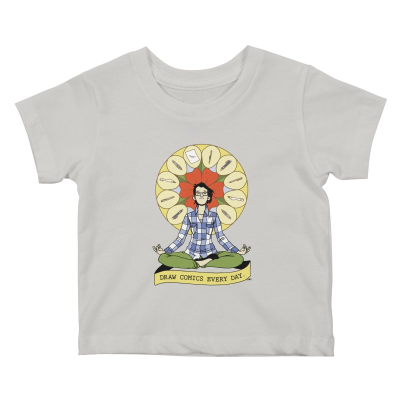 Draw Comics Every Day Kids Baby T-Shirt by mixtapecomics's Artist Shop