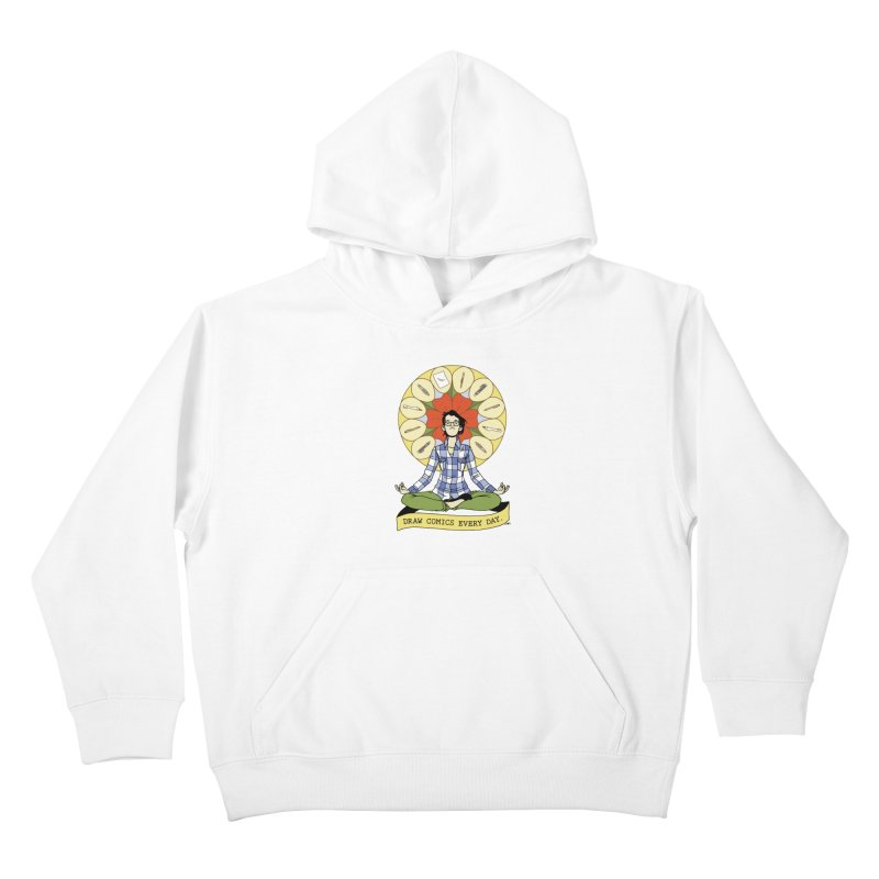 Draw Comics Every Day Kids Pullover Hoody by mixtapecomics's Artist Shop