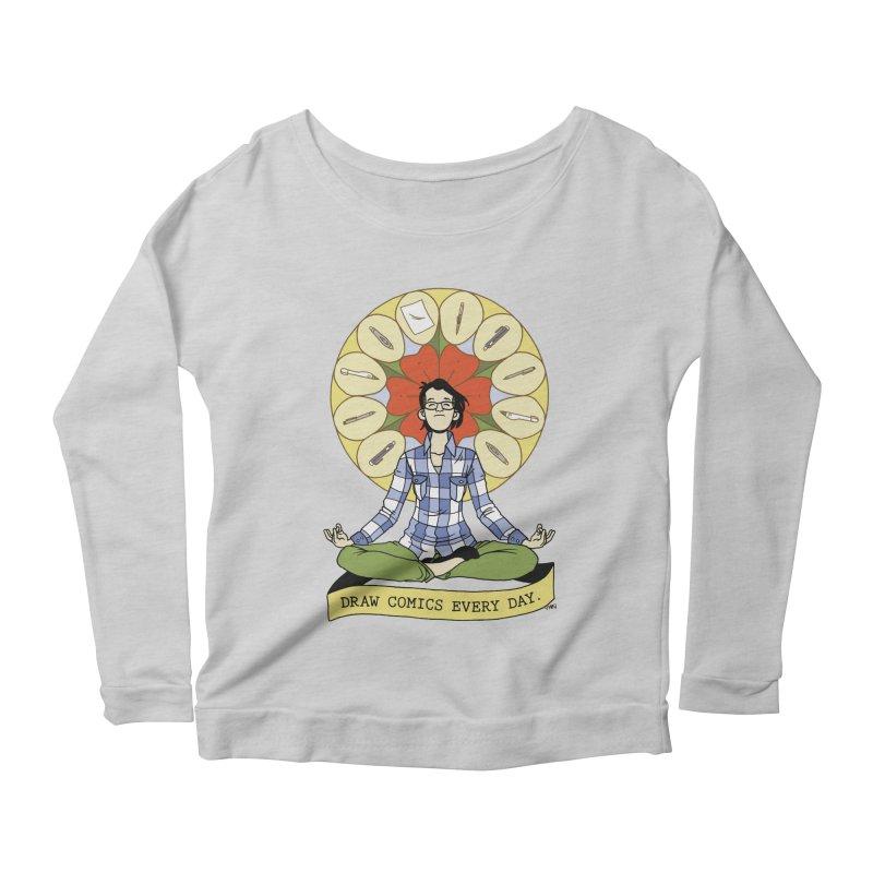 Draw Comics Every Day Women's Longsleeve T-Shirt by Mixtape Comics