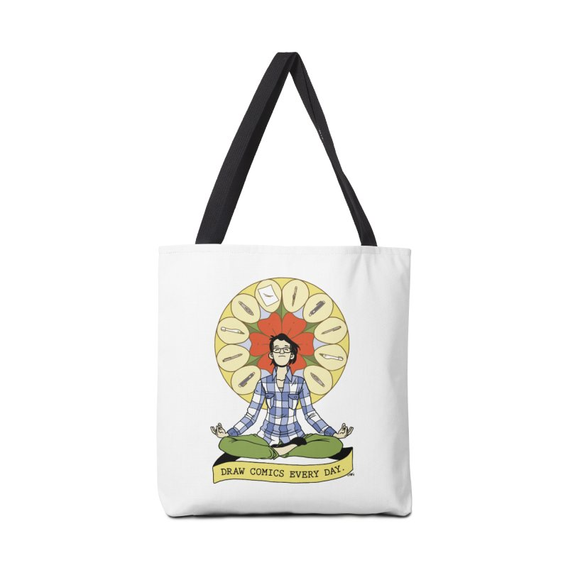 Draw Comics Every Day Accessories Tote Bag Bag by Mixtape Comics