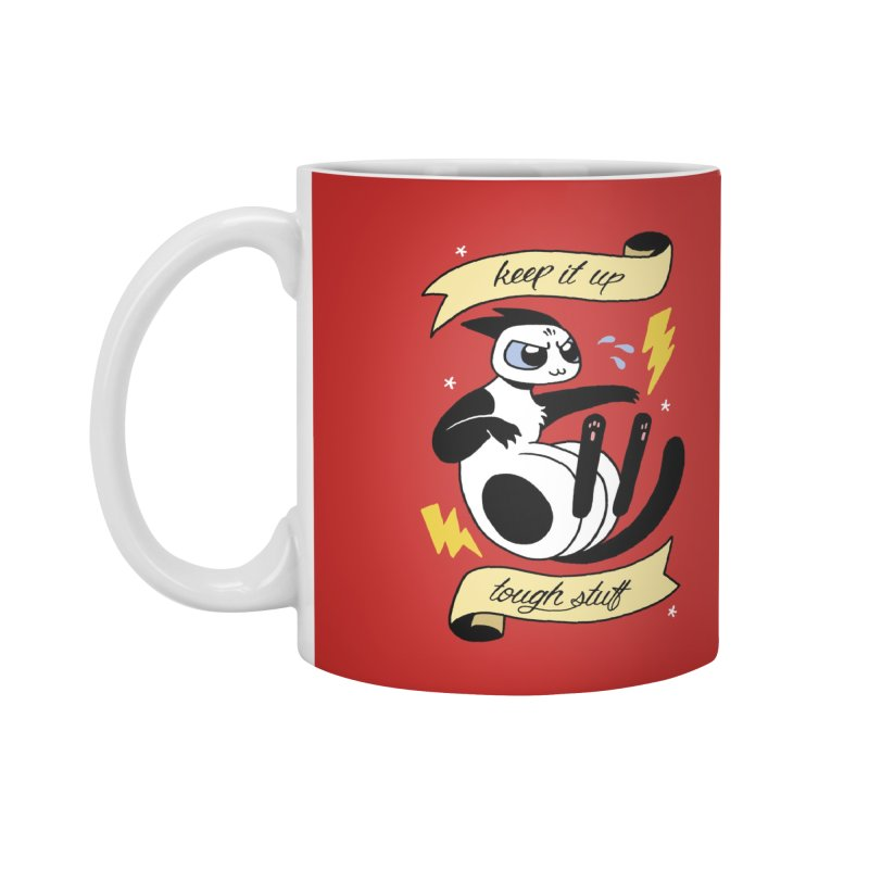 Keep It Up Tough Stuff Accessories Standard Mug by Mixtape Comics