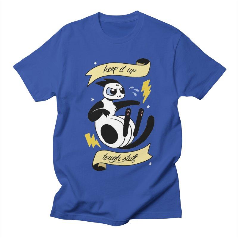 Keep It Up Tough Stuff Men's Regular T-Shirt by Mixtape Comics