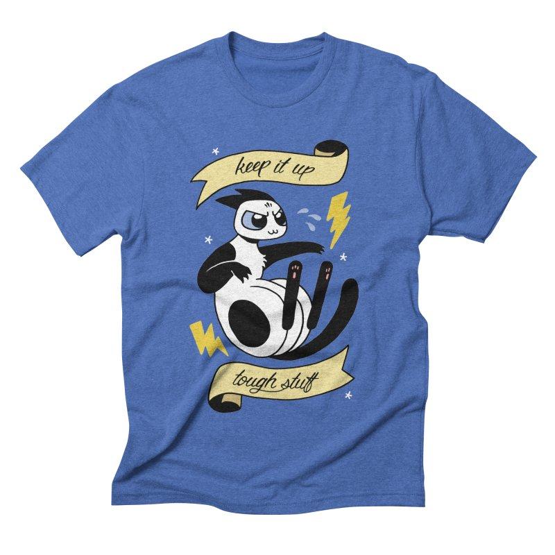 Keep It Up Tough Stuff Men's Triblend T-Shirt by Mixtape Comics