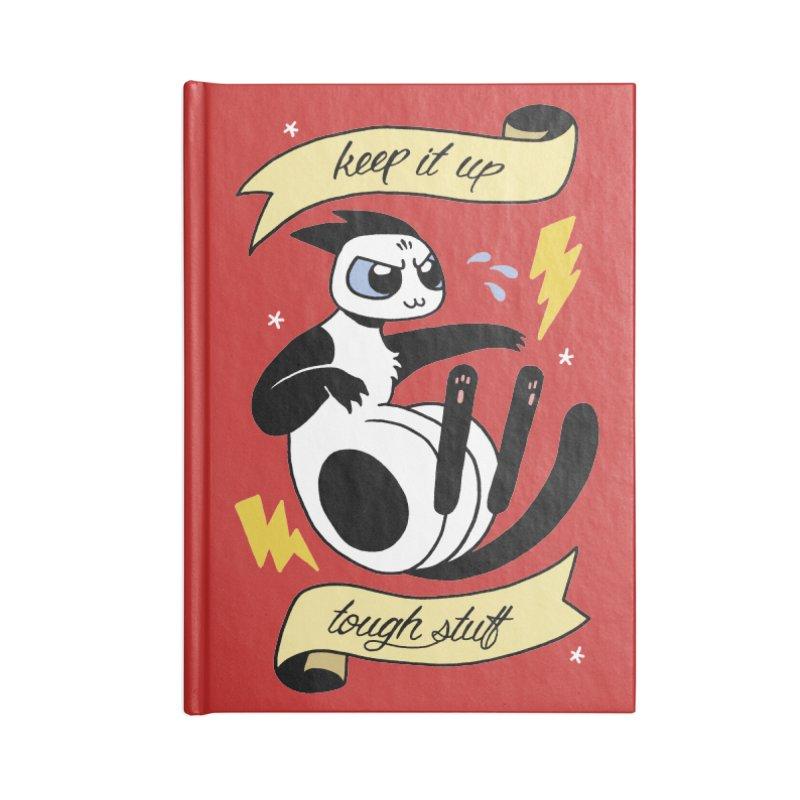 Keep It Up Tough Stuff Accessories Notebook by mixtapecomics's Artist Shop