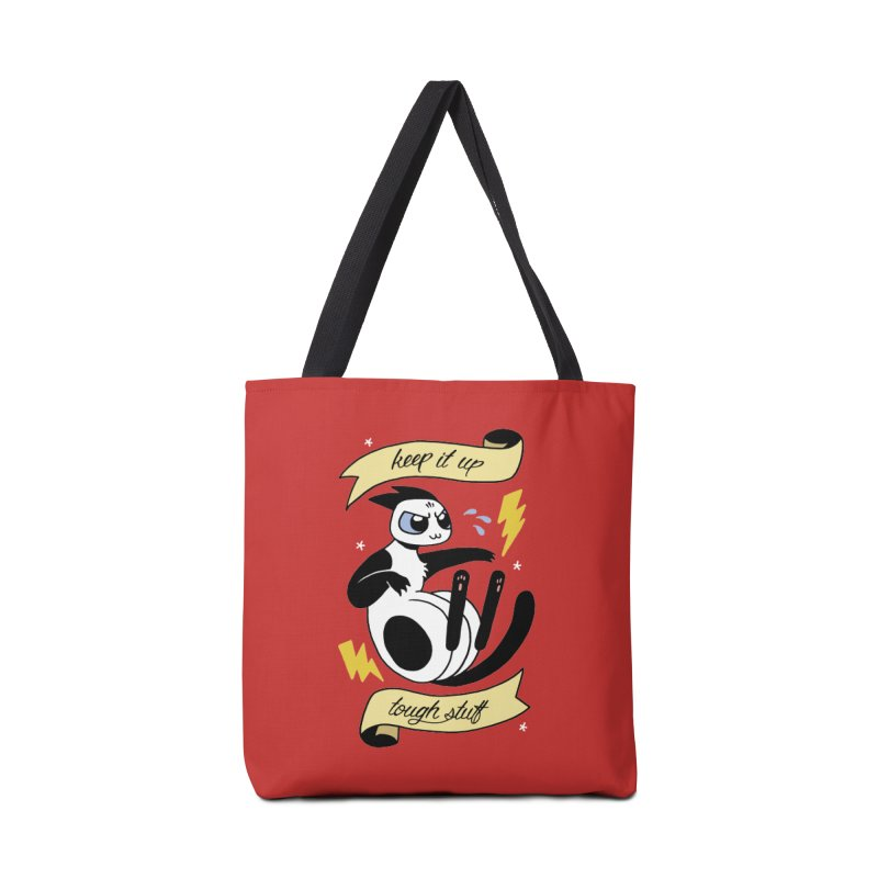 Keep It Up Tough Stuff Accessories Bag by mixtapecomics's Artist Shop