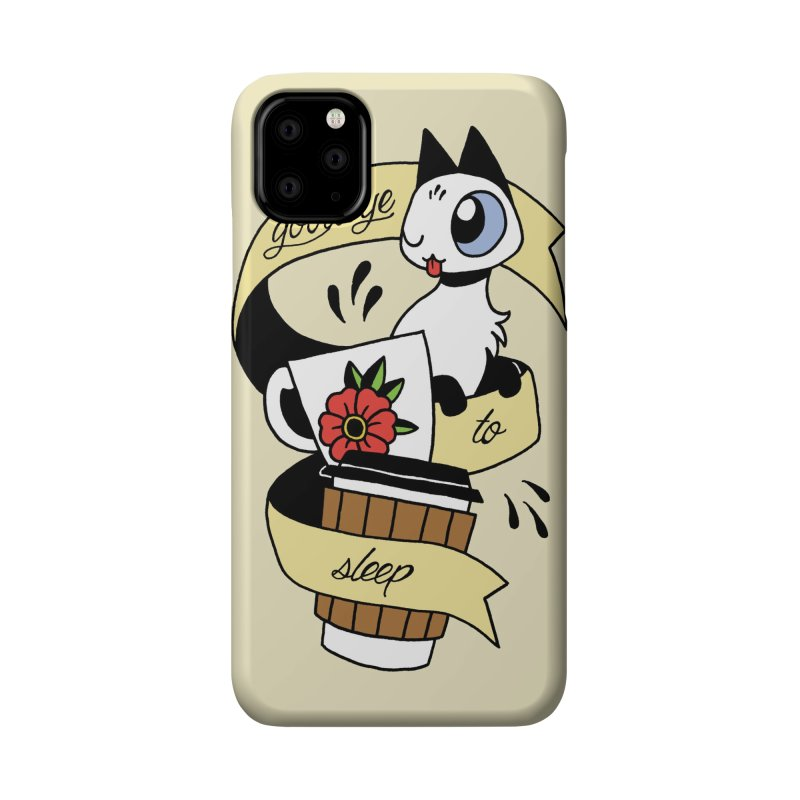 Goodbye to Sleep Accessories Phone Case by Mixtape Comics