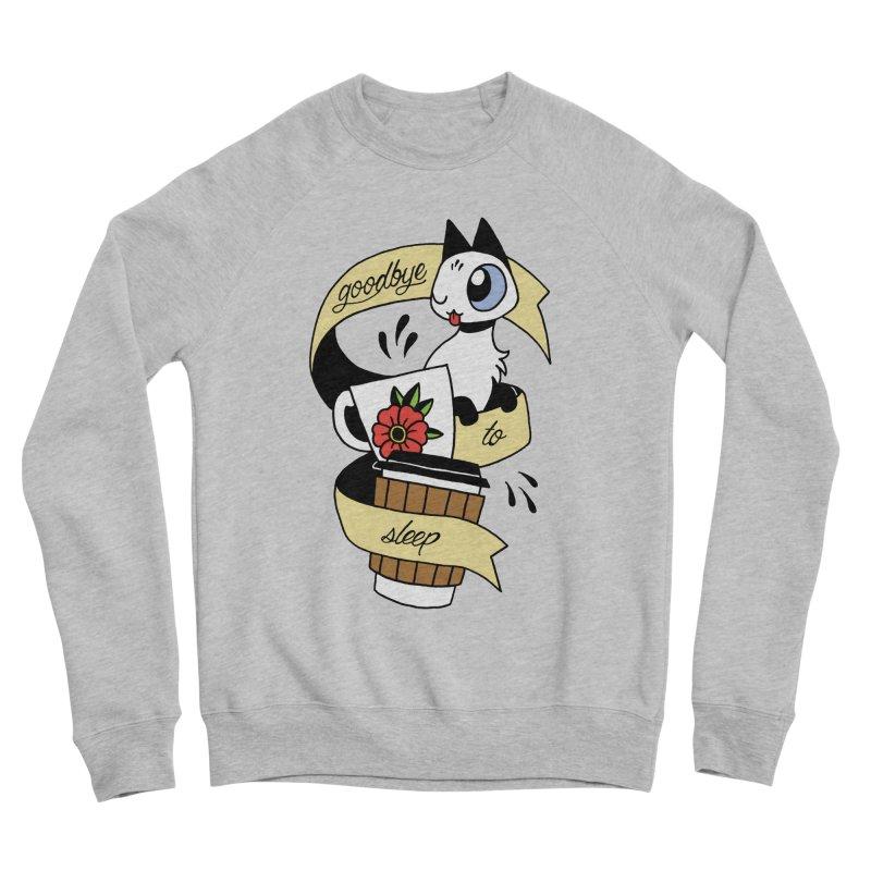 Goodbye to Sleep Men's Sponge Fleece Sweatshirt by Mixtape Comics