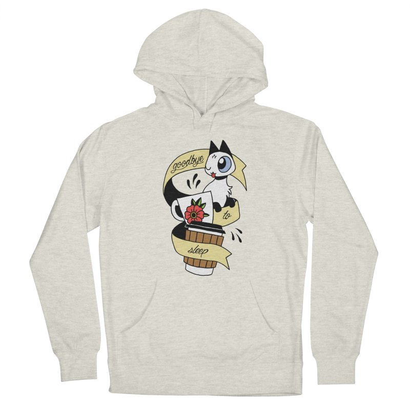 Goodbye to Sleep Men's Pullover Hoody by Mixtape Comics