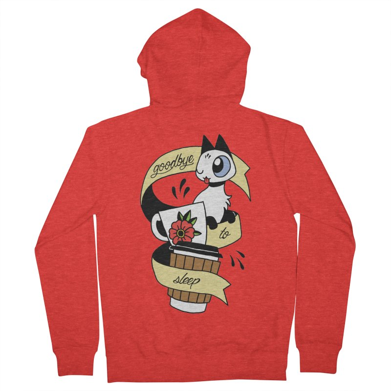 Goodbye to Sleep Women's Zip-Up Hoody by Mixtape Comics