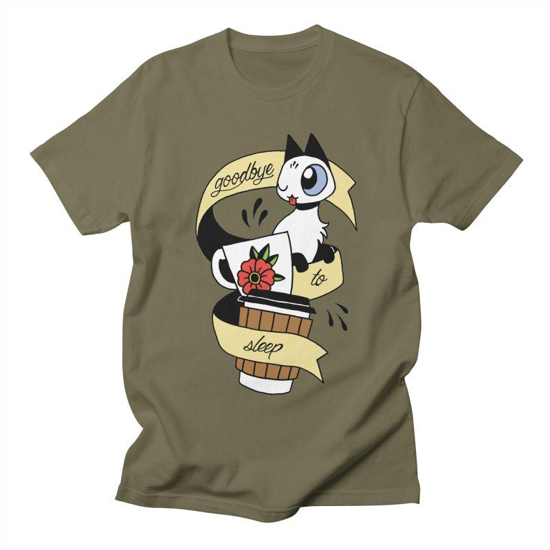 Goodbye to Sleep Women's Regular Unisex T-Shirt by mixtapecomics's Artist Shop