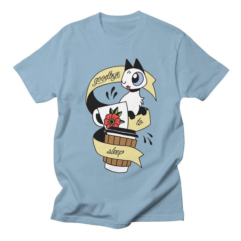Goodbye to Sleep Women's T-Shirt by mixtapecomics's Artist Shop
