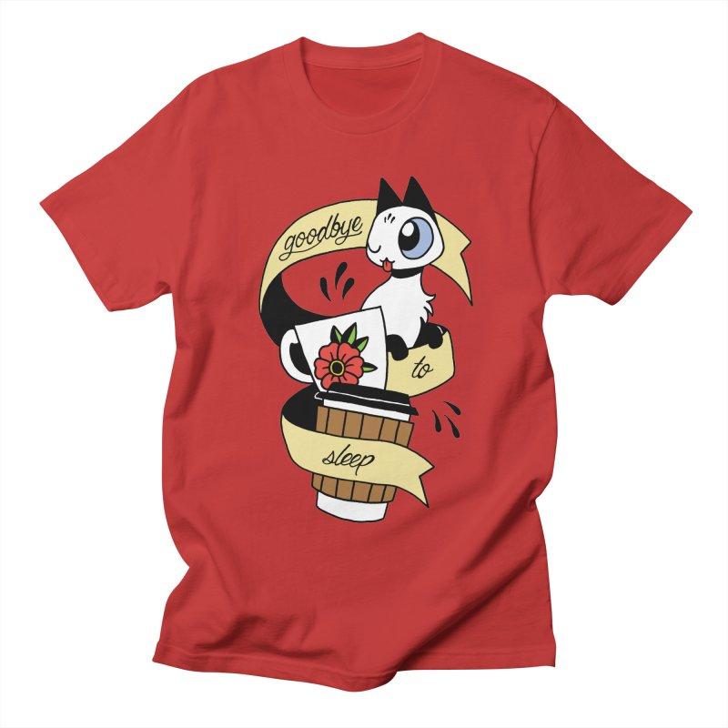 Goodbye to Sleep Men's T-Shirt by mixtapecomics's Artist Shop