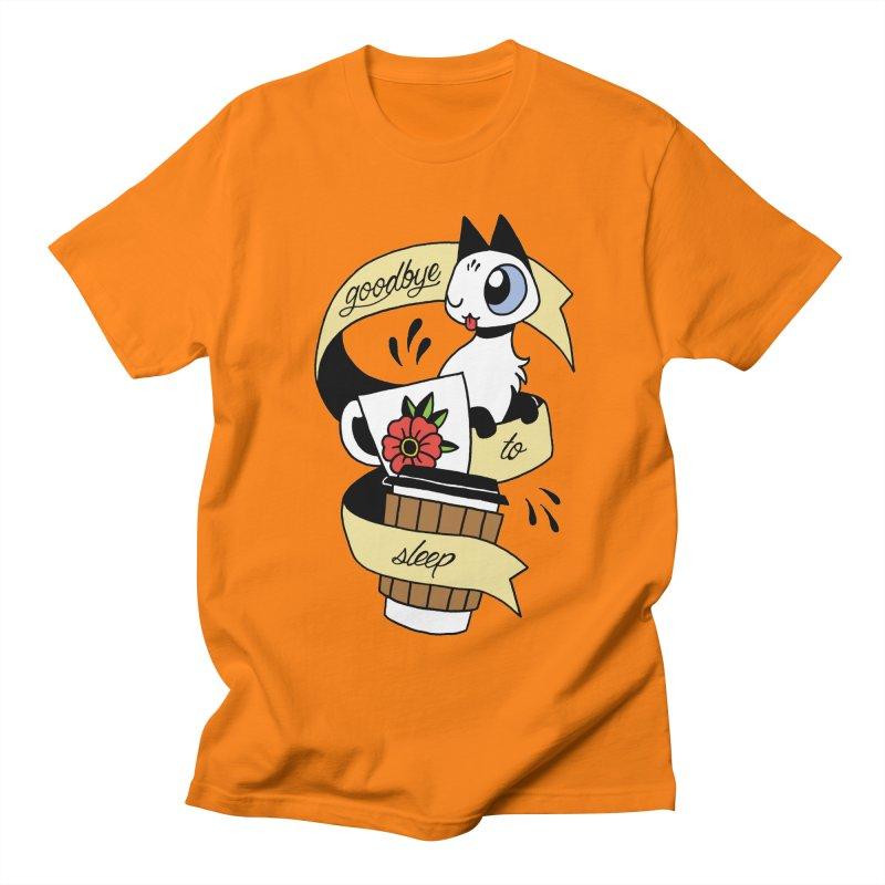 Goodbye to Sleep Men's T-Shirt by Mixtape Comics