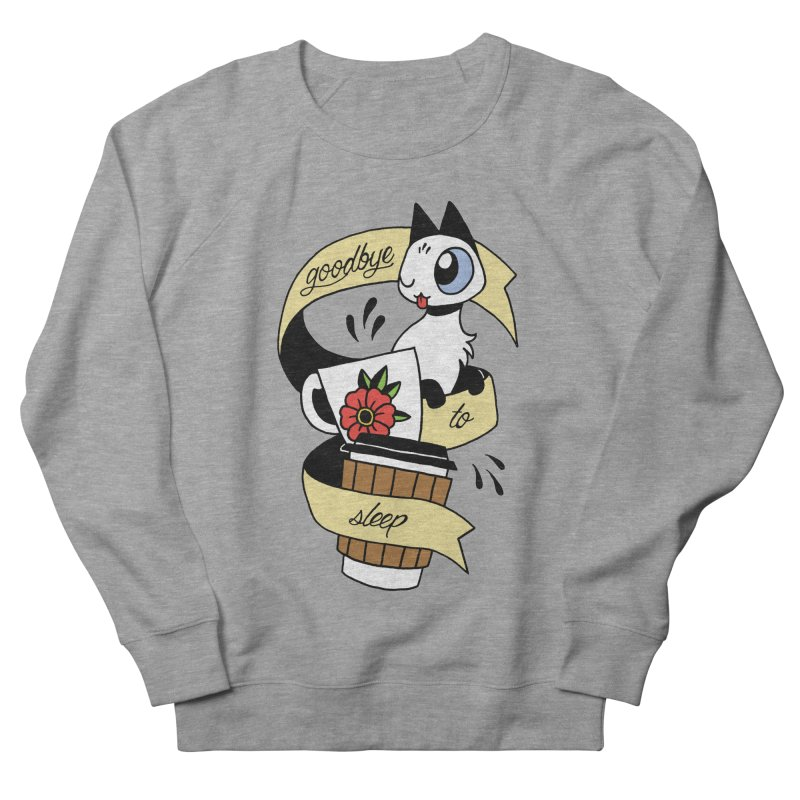 Goodbye to Sleep Men's French Terry Sweatshirt by Mixtape Comics