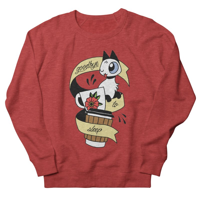 Goodbye to Sleep Men's French Terry Sweatshirt by Mixtape Comics
