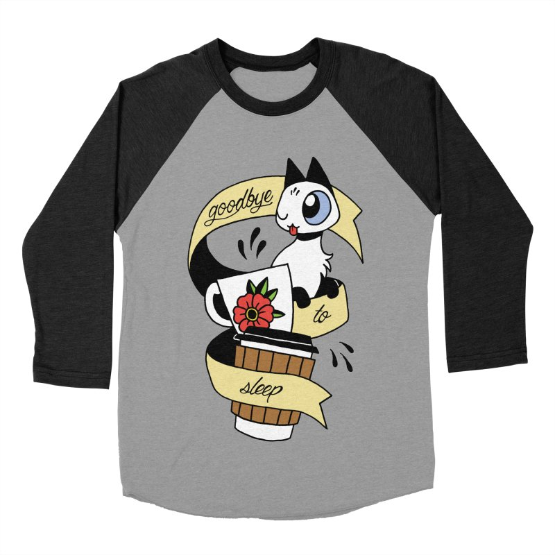 Goodbye to Sleep Women's Baseball Triblend Longsleeve T-Shirt by Mixtape Comics