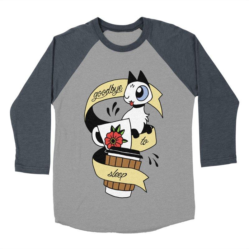 Goodbye to Sleep Men's Baseball Triblend Longsleeve T-Shirt by Mixtape Comics