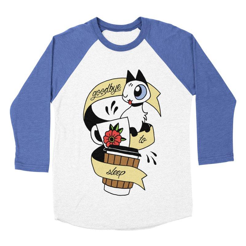 Goodbye to Sleep Men's Baseball Triblend Longsleeve T-Shirt by mixtapecomics's Artist Shop
