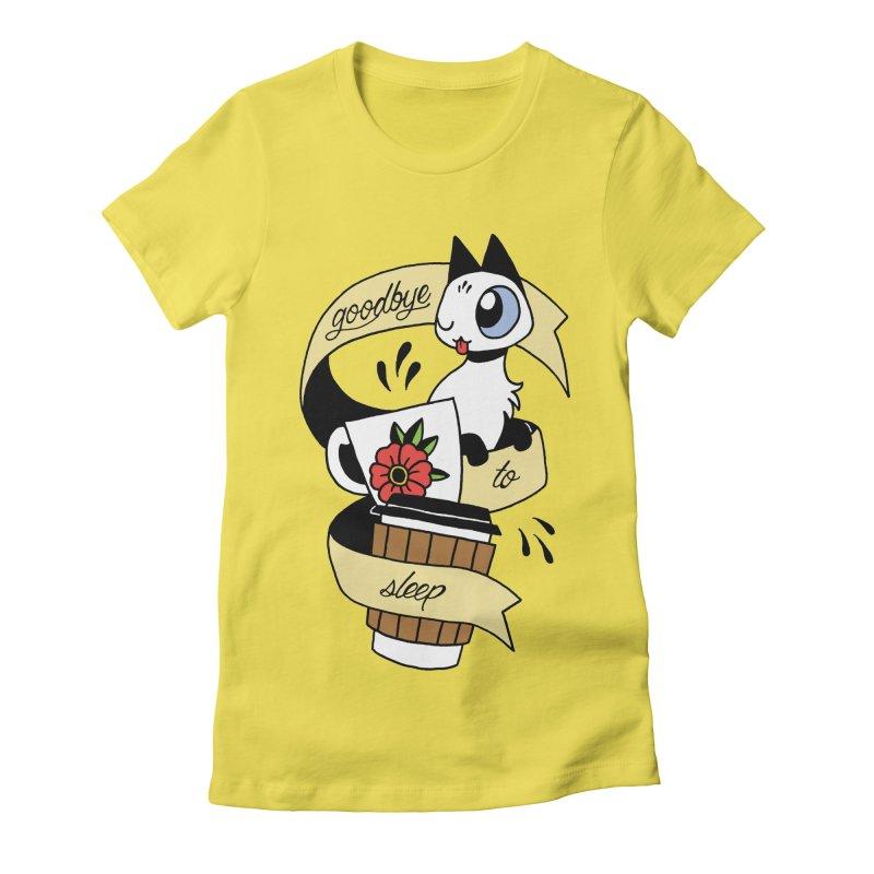 Goodbye to Sleep Women's T-Shirt by Mixtape Comics
