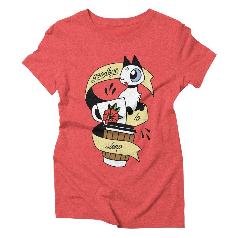 Goodbye to Sleep Women's Triblend T-Shirt by Mixtape Comics