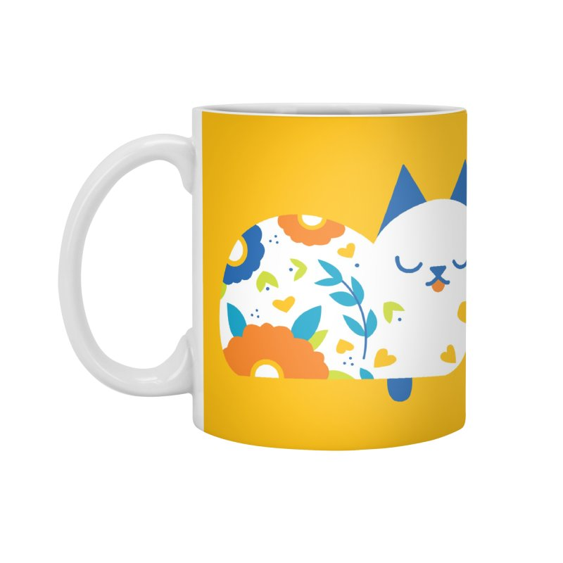 Tattoed Tabby Accessories Standard Mug by Mixtape Comics