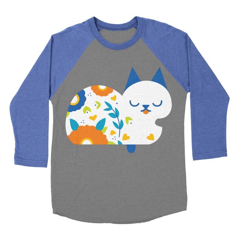 Tattoed Tabby Men's Baseball Triblend T-Shirt by mixtapecomics's Artist Shop