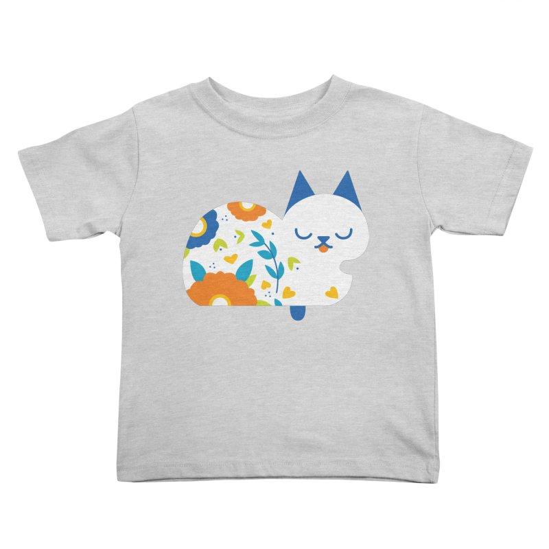 Tattoed Tabby Kids Toddler T-Shirt by mixtapecomics's Artist Shop