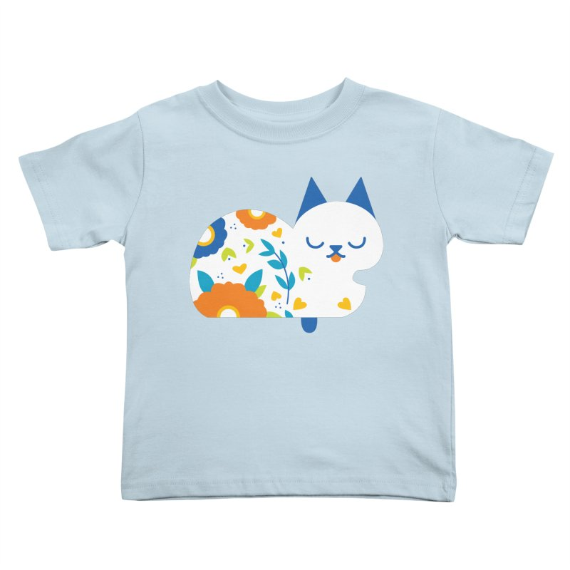 Tattoed Tabby Kids Toddler T-Shirt by Mixtape Comics