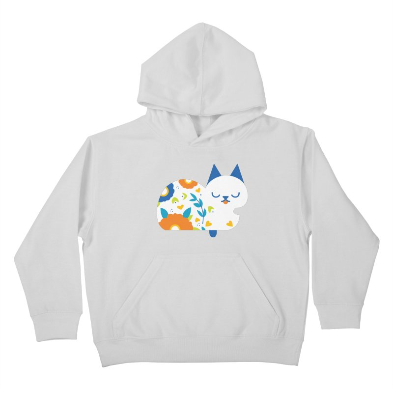 Tattoed Tabby Kids Pullover Hoody by mixtapecomics's Artist Shop