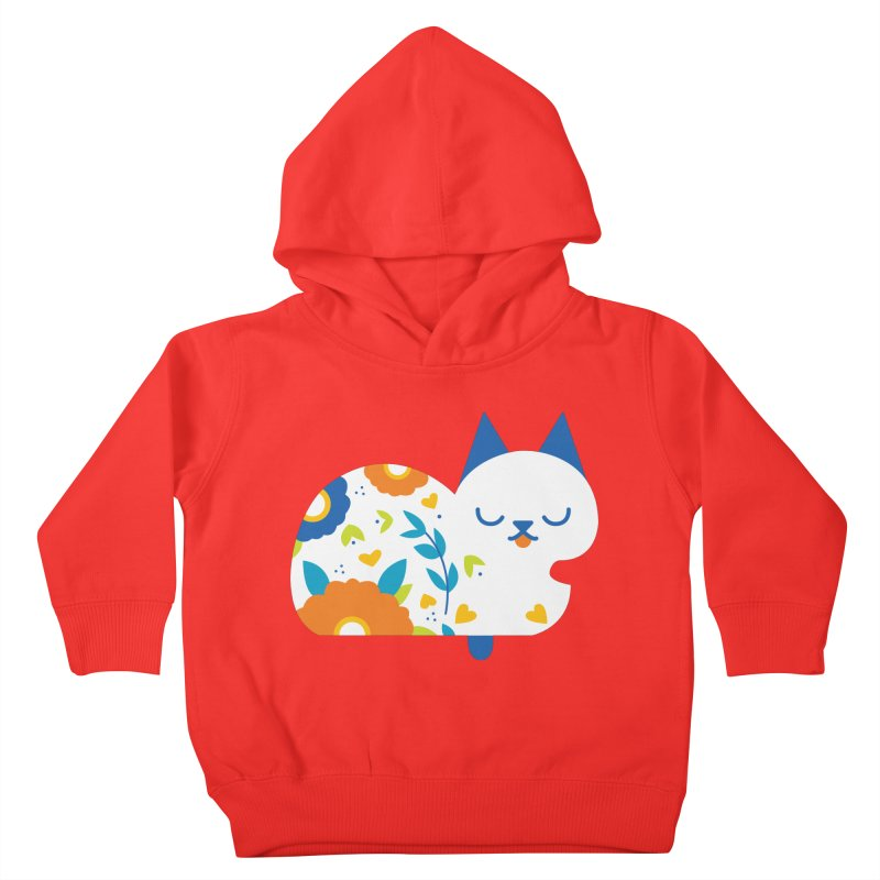 Tattoed Tabby Kids Toddler Pullover Hoody by Mixtape Comics